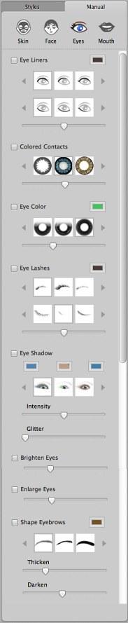 Manual — Eyes