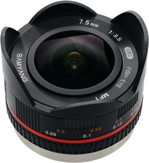 Samyang 7.5mm f/3.5 UMC Fisheye