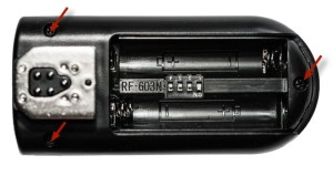 модификация rf-603 — разборка